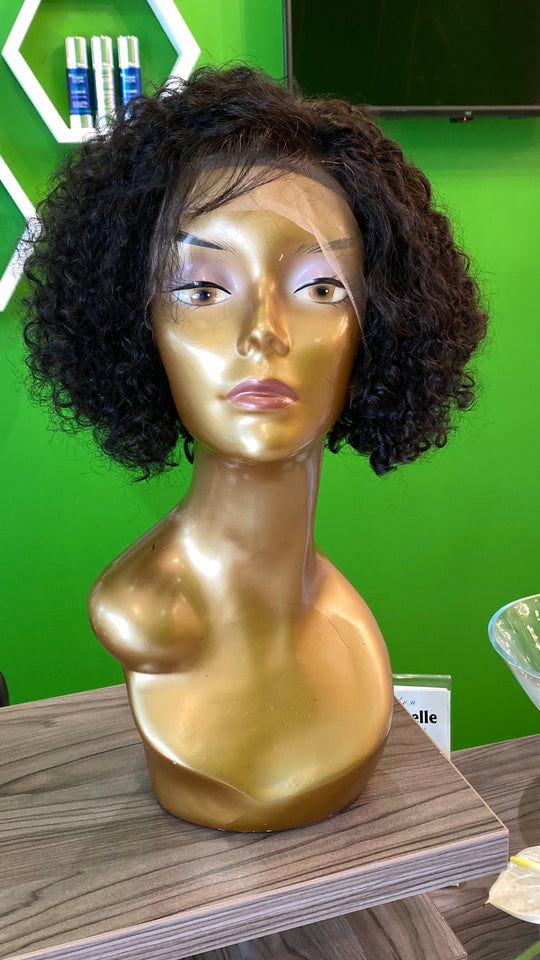 "8"" Pixie Curl Lace Front Wig"