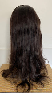 "20"" Brazilian Lace Wig in natural"