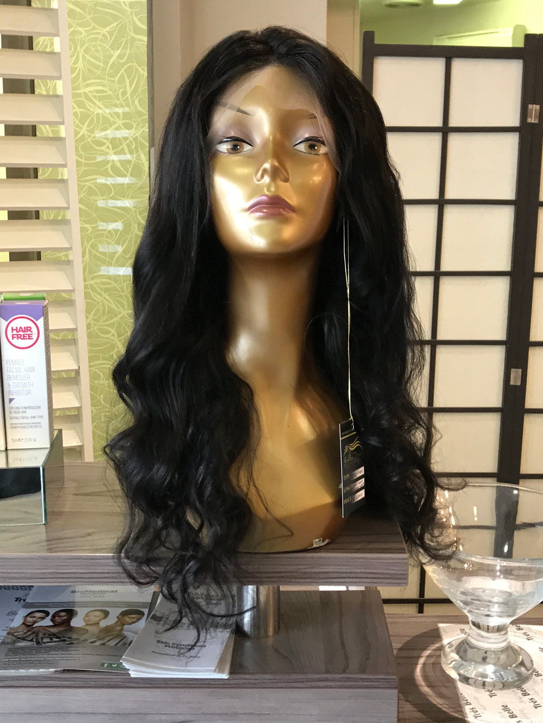 "20"" Brazilian Loose Wave Lace Front Wig"