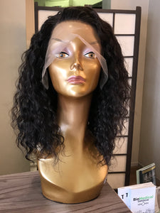 "14"" Brazilian Curly Lace Front Wig"