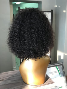 "- bellazara-hair-boutique - 10"" Brazilian Curly Lace Wig"