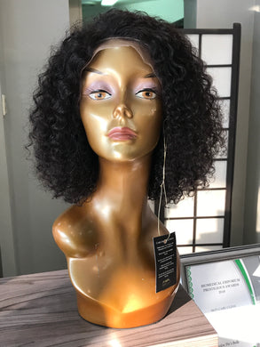 "10"" Brazilian Curly Lace Wig - bellazara-hair-boutique"
