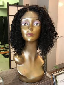 "14"" Brazilian Lace Front Wig - bellazara-hair-boutique"