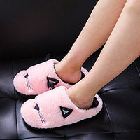 Anddyam Kids Family Cute Cat Anti-Slip Indoor Home Slippers