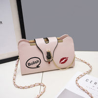 Embroidery Small Lipstick Simple Shoulder Bag