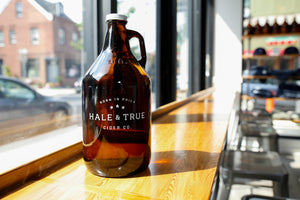 64oz Glass Growler