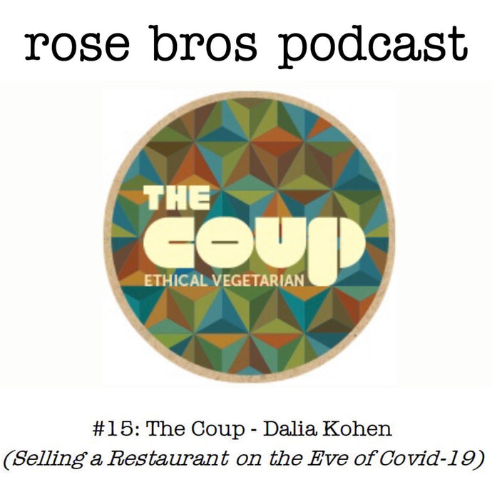 Episode #15: The Coup - Dalia Kohen (Selling a Restaurant on the Eve of Covid-19)