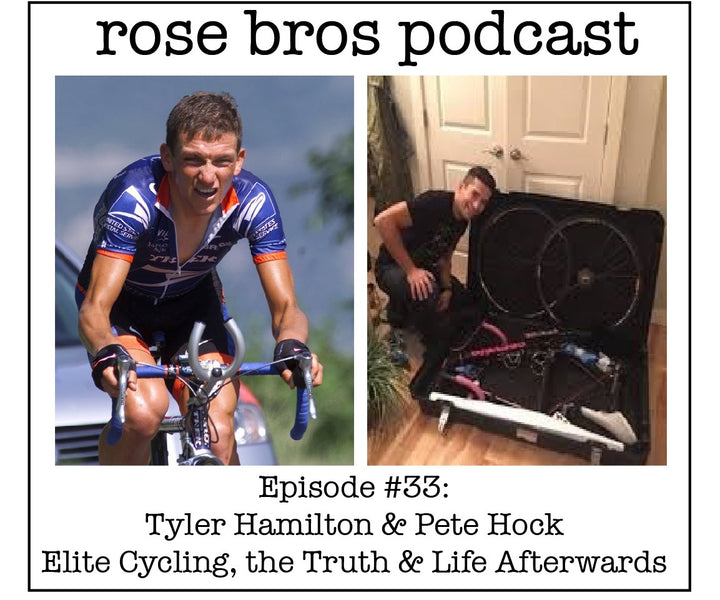 Episode #33: (Tyler Hamilton & Pete Hock) - Elite Cycling, the Truth & Life Afterwards