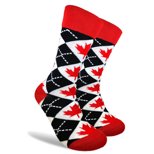 "Ski/Board Socks - ""The Canadian"""