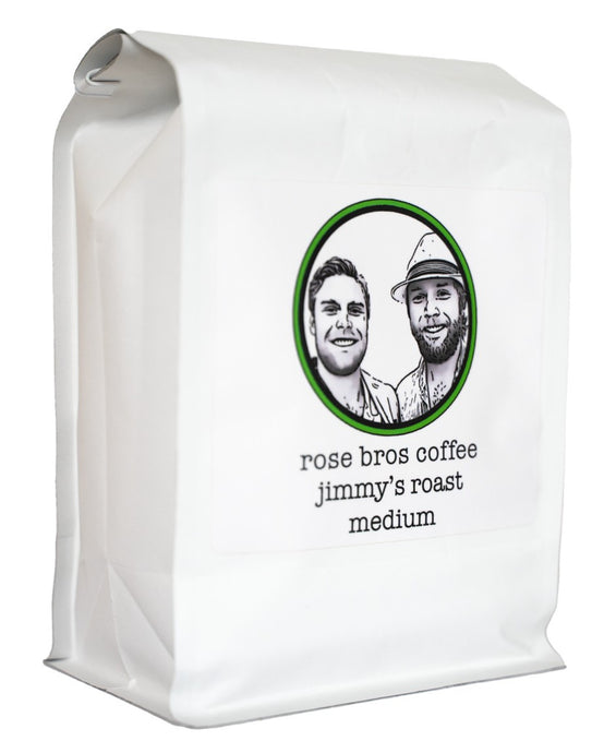 Rose Bros Coffee, Jimmy's Roast, Colombia, Medium Roast, 1 lb.