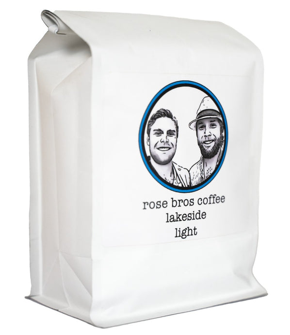 Rose Bros Coffee, Lakeside, Guatemala, Light Roast, 1 lb.