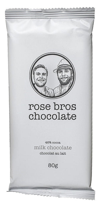 Rose Bros, Milk Chocolate Bar, 80 g