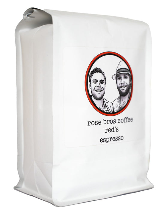 Rose Bros Coffee, Red's Espresso, 1 lb.