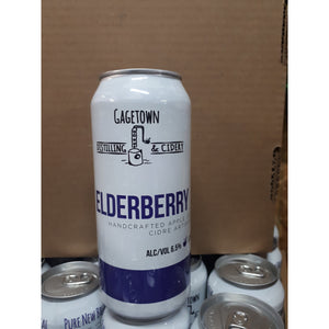 Elderberry cider
