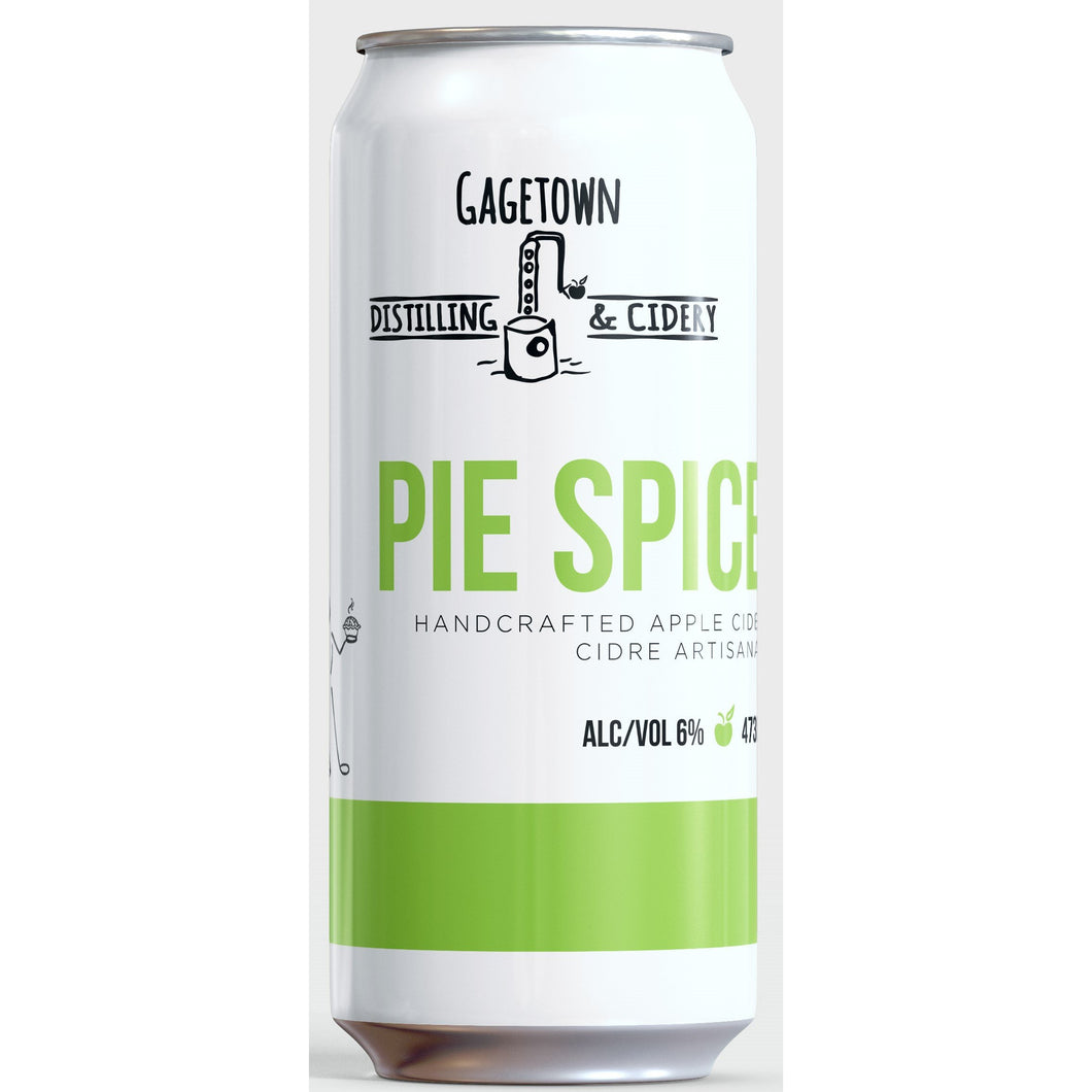 Pie spiced cider 473ml 6%alc/vol