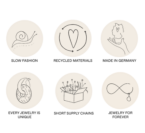 recycled 14k gold | short supply chains | jewelry for forever | family business