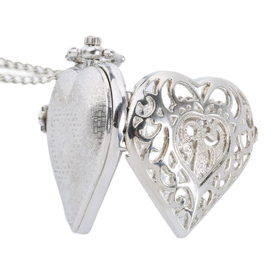 Heart-Shape Pocket Watch - ShinyGoods.store