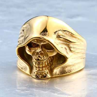 Skull Ring - ShinyGoods.store