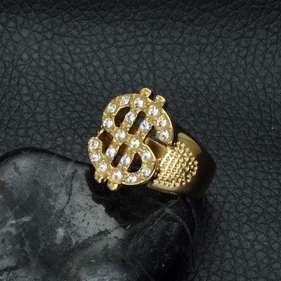 Dollar Sign Ring - ShinyGoods.store