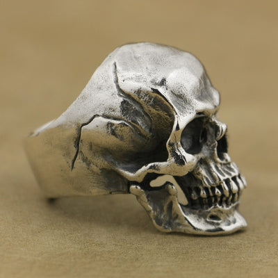 Silver Skull Ring - ShinyGoods.store