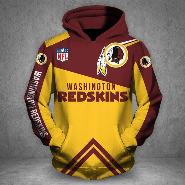 WASHINGTON REDSKINS Hoodie Printed Vip