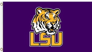 Louisiana State Tigers Hand Flag 3*5ft