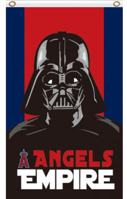 Los Angeles Angels Star Wars Darth Vader Empire Flag 3x5ft