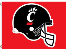 Load image into Gallery viewer, Cincinnati Bearcats Hand Flag 3*5ft