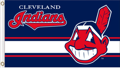 Cleveland Indians Sport logo Banner flags 3ftx5ft