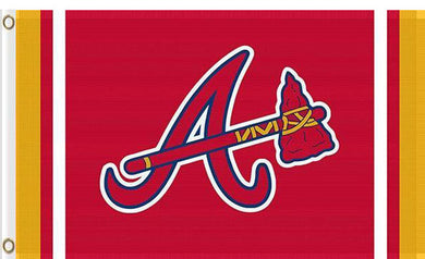 Atlanta Braves custom flag 3ftx5ft