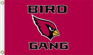 Arizona Cardinals Team Banners Flags 3ftx5ft