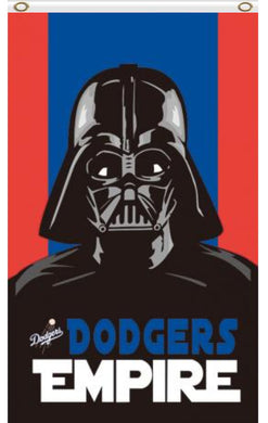 Los Angeles Dodgers Star Wars Darth Vader Banner flag 3ftx5ft