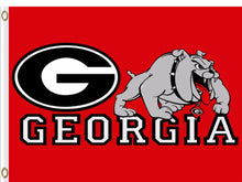 Load image into Gallery viewer, Georgia Bulldogs Hand Flags Banners 3*5ft