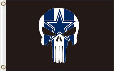 Dallas Cowboys football flag 90*150 CM skeleton