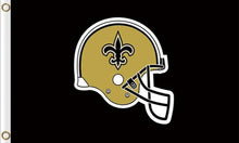 Load image into Gallery viewer, New Orleans Saints Team Logo Sports Flags 3ftx5ft
