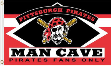 Pittsburgh Pirates Man Cave Banner flag 90x150cm