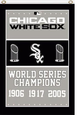Chicago White Sox World Series Champions Banner flags 3ftx5ft