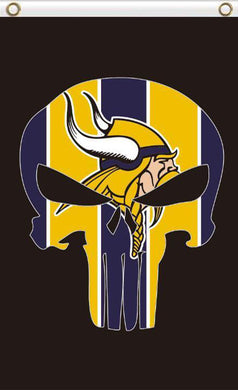 Minnesota Vikings Digital Printing Flag 3ftx5ft