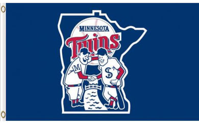 Minnesota Twins Banner flag 3ftx5ft
