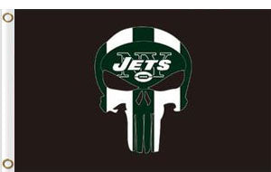 New York Jets Flag Digital Printing 3ftx5ft