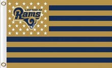 Load image into Gallery viewer, Los Angeles Rams Sports Banners Flags 3ftx5ft