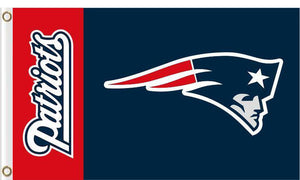 New England Patriots Flags 3ftx5ft