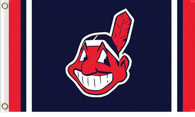 Cleveland Indians custom flag 3ftx5ft