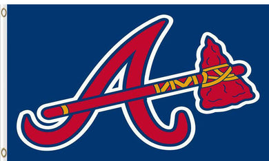 Atlanta Braves Baseball Club flags 3ftx5ft