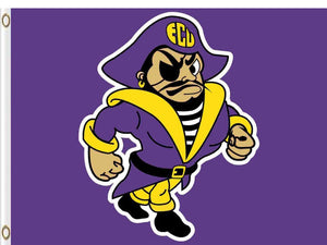 East Carolina Pirates Flag 3*5ft Club Basketball
