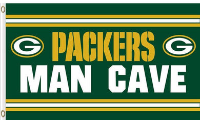 Green Bay Packers Man Cave Flag 3X5F