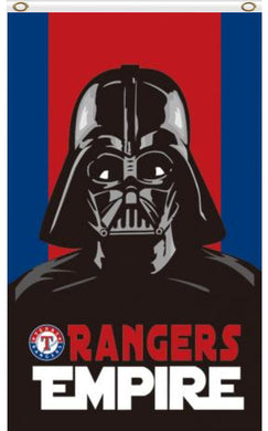 3x5ft Polyester Texas Rangers Wars Darth Vader Empire Flag