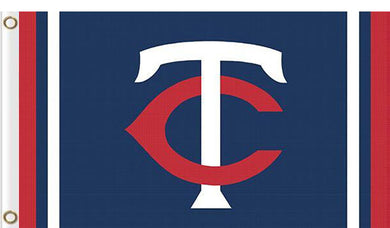 Minnesota Twins custom flag 3ftx5ft
