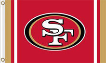 Load image into Gallery viewer, San Francisco 49ers Logo Sports Flags 3ftx5ft