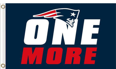 New England Patriots one more Flags 3ftx5ft